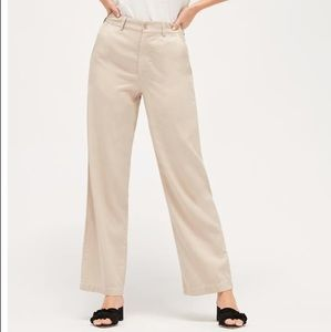 Lacausa Isabelle trousers in tar NWT